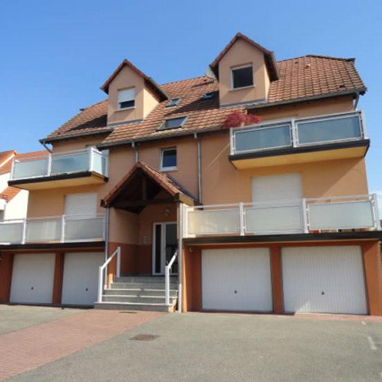 Immeuble 4 logements à Geudertheim