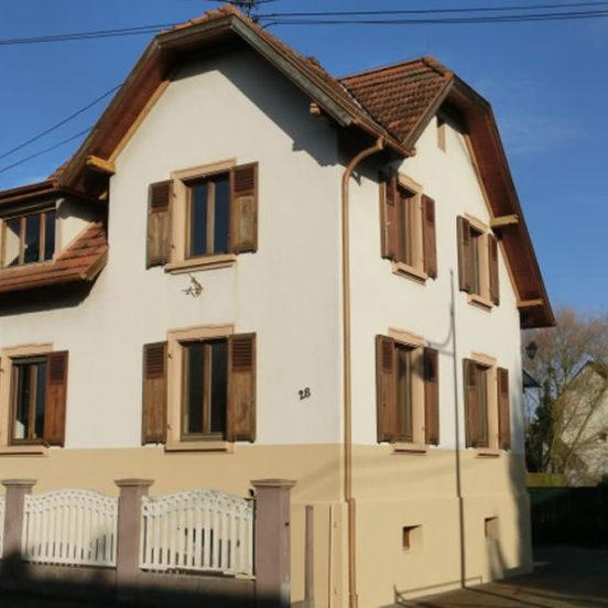 Maison à Gambsheim sur 10 ares