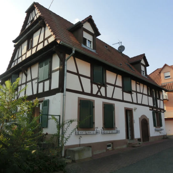 Maison alsacienne à Geudertheim